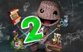 A poster of the Sony game: Little Big Planet 2