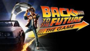 A poster of Back to the Future: The Game